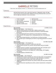 resume exles for sales best sales associate resume exle livecareer