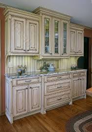 Distressed Kitchen Cabinets Delightfully Distressed Kitchen - Kitchen cabinets custom made