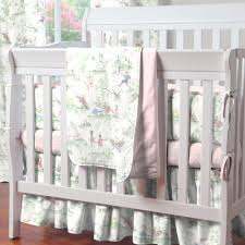 Davinci Mini Crib Sheets by Pink Over The Moon Toile Portable Crib Bedding Carousel Designs