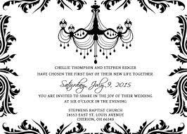 wedding invites templates black and white wedding invitation templates orax info