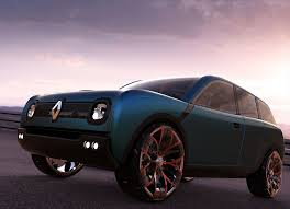 renault concept 3d renault concept cgtrader