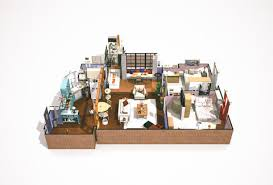 3d apartment floorplans for friends big bang theory how i met