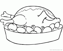 thanksgiving dinner coloring pages best coloring pages free