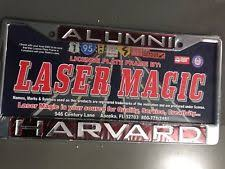 harvard alumni license plate frame harvard license ebay