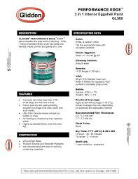 performance edge 3 in 1 interior eggshell paint glidden pdf