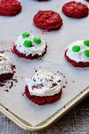 red velvet cake mix cookies my suburban kitchen