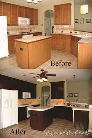 cheap kitchen makeover ideas before and after cheap kitchen remodel before and after outofhome