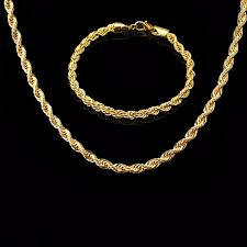 gold chain necklace rope images Buy rnafashion hip hop men boys necklace rope jpg