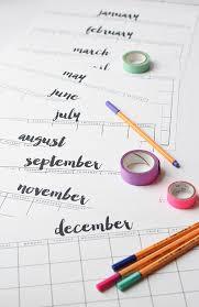 printable calendar 2016 etsy free printable calendar thyme is honey