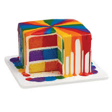 square cake shop for the checkerboard square cake pan set by celebrate it at