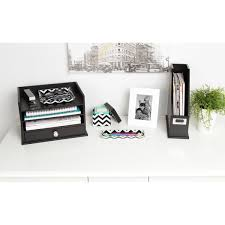 kate and laurel luxe 3 piece acrylic desk organizer set free
