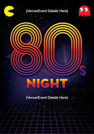 eighties night pacman