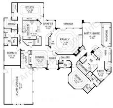 Contemporary House Plans by Allianz Ranch Floor Plans 4000 Sq Ft House Plans