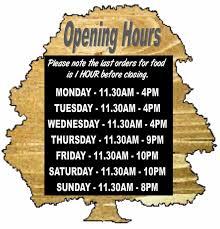 the beech tree inn sign winter opening hours 2015
