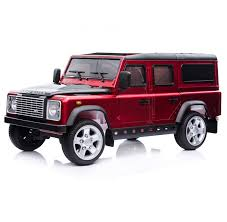 land rover defender 2015 price licensed land rover defender 12v child u0027s ride on red outdoor toys