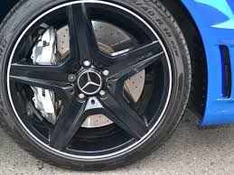 mercedes c63 amg alloys car wrapping vehicle wrap