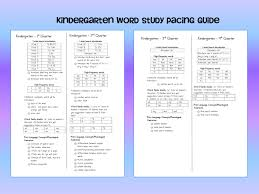 reading curriculum for kindergarten ready to get organized pacing guide word study and kindergarten