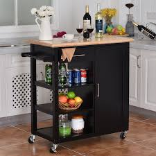 4 tier rolling wood kitchen trolley cart kitchen u0026 dining carts