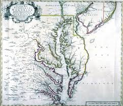 Map Of Virginia by A New Map Of Virginia Maryland And The Improved Parts Of