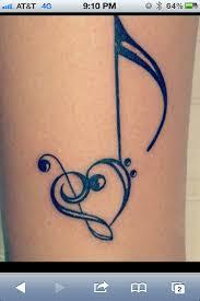 musiknoten tattoo music tattoos tattoo and tatting