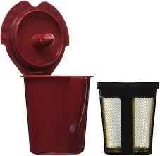 amazon com solofill v1 gold cup 24k plated refillable filter cup
