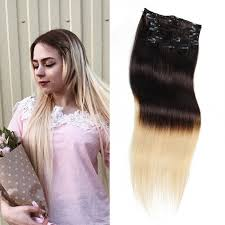 ombre clip in hair extensions unice ombre clip in hair extensions 100 g 100 hair