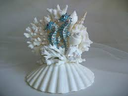 seahorse cake topper seahorse cake toppers the sea cupcake a ships in 1 3