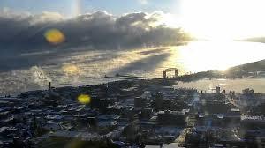 lake superior sea smoke sea smoke on lake superior at duluth christmas 2017 hans howe