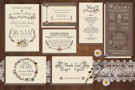 Free Wedding Invitation Card Template Wildflower Wedding Invitation Suite Invitation Templates