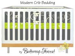 etsy find modern crib bedding by buttercup forrest