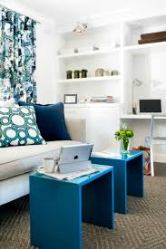 Coffee Nook Ideas by Astonishing Reading Nook Design Ideas With Blue Coffee Tables And