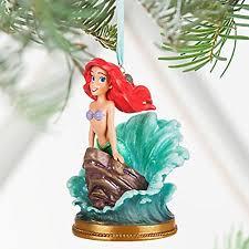 disney store 2016 mermaid ariel singing sketchbook ornament