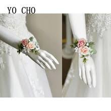 bridesmaid corsage online get cheap flower bracelet corsage aliexpress alibaba