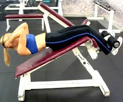 Decline Bench Leg Raises Great Abs