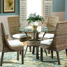 furniture stores dining tables sunroom furniture stores panama jack round glass casual dining table