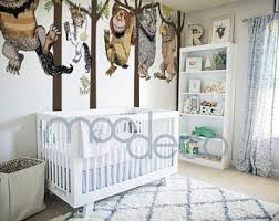 where the wild things are bedroom where the wild things are wall decal etsy