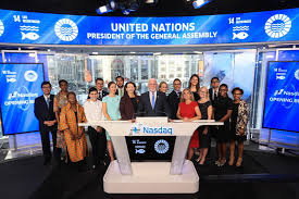 un assembly president rings nasdaq bell sounds alarm on behalf of