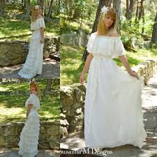 Boho Wedding Dresses Discount Vintage Lace Ivory Bohemian Wedding Dresses Off The