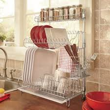 Kitchen Dish Rack Ideas Dish Racks For Small Spaces Set Architectural Home Design
