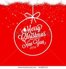 happy new year invitation merry christmas happy new year invitation stock vector 343867142