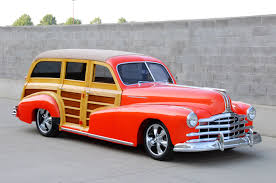 larry crider u0027s decadent 1948 pontiac streamliner woodie wagon
