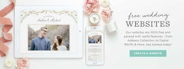 free wedding website websites