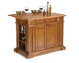 distressed island kitchen home styles kitchen island with drop leaf in distressed oak the