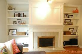 How To Reface A Fireplace by Diy Brick Fireplace Refacing Fireplace Refacing Brick Fireplace