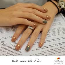 nails with studs for carolinataliast ilovetribeca