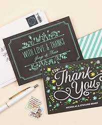 personalized thank you cards personalized thank you gifts evermine