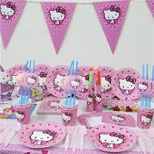 hello party supplies new 74pcs luxury kids birthday party decoration set hello