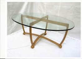 oval glass and wood coffee table oval glass top coffee table tables for dining room gorgeous design