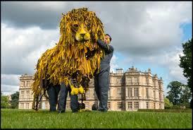 lion puppet war team create longleat lion puppet discover animals