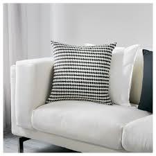 stockholm cushion black white 50x50 cm ikea